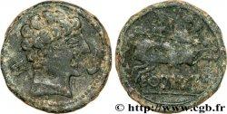 HISPANIA - EKUALAKOS (Alto Duero) Unité de bronze au cavalier ou as BB