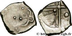 """CADURQUES (région de Cahors) Drachme """"à la tête triangulaire"""", S. 131"""