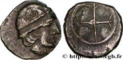 MASSALIA - MARSEILLE Litra à la tête casquée à droite