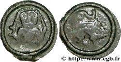 GALLIA BELGICA - REMI (Area of Reims) Potin au personnage de face, classe I