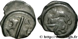 GALLIEN - BELGICA - LINGONES (Region die Langres) Potin OYINDIA à la tête janiforme