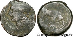 MASSALIA - MARSEILLE Bronze lourd au taureau (hémilitron)