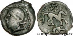 GALLIA - CARNUTES (Area of the Beauce) Bronze au cheval et au sanglier