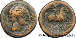 HISPANIA - SEDETANOS - KELSE (Province of Zaragoza - Velilla del Ebro) Unité de bronze AU