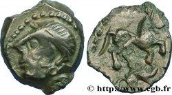 CARNUTES (Région de la Beauce) Bronze au cheval et au sanglier