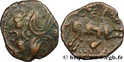 GALLIA BELGICA - AMBIANI (Area of Amiens) Bronze IMONIO au cavalier et aux volutes
