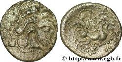 GALLIA - BAÏOCASSES (Area of Bayeux) Statère de billon au sanglier, petite tête