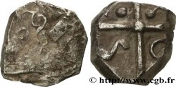 GALLIA - SOUTH WESTERN GAUL - NITIOBROGES (Area of Agen) Drachme aux mèches ondulées, S. 117