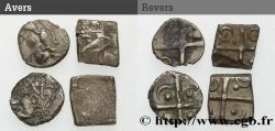 GALLIA - SOUTH WESTERN GAUL - VOLCÆ TECTOSAGES (Area of Toulouse) Lot de 4 drachmes à la croix