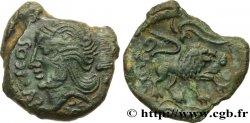 VELIOCASSES (Area of Norman Vexin) Bronze SVTICOS, classe II au lion
