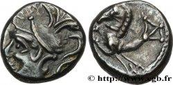 GALLIA - ALLOBROGES (Dauphiné area) Denier à l'hippocampe, tête à gauche
