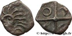 GALLIA - SOUTH WESTERN GAUL - NITIOBROGES (Area of Agen) Obole à la tête hirsute, S. -