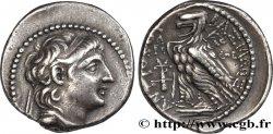 SYRIA - SELEUKID KINGDOM - ANTIOCHUS VII SIDETES Didrachme AU/AU