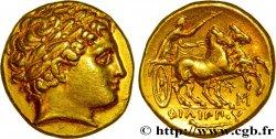 MACÉDOINE - ROYAUME DE MACÉDOINE - PHILIPPE III ARRHIDÉE Statère dor