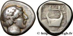 IONIE - COLOPHON Sicle ou drachme