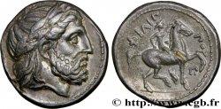 MACEDONIA - MACEDONIAN KINGDOM - PHILIPP III ARRHIDAEUS Tétradrachme AU/AU