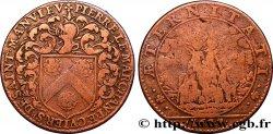 NORMANDIE (NOBLESSE ET VILLES DE...) Jeton Cu 26, Pierre le Marchant, trésorier général des finances à Caen