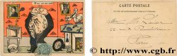 FREEMASONRY carte postale couleurs satirique 1903