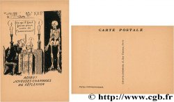 FREEMASONRY carte postale satirique ND