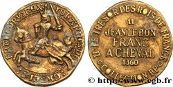 BP jetons and tokens JEAN II LE BON - Franc à cheval - n°11 1968
