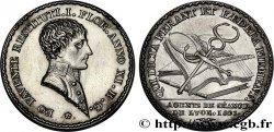 LYON ET DU LYONNAIS (JETONS ET MÉDAILLES DE...) Jeton Ar 31, agents de change 1803
