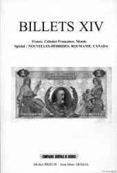 Billets 14 - Nouv.-Hébrides - Roumanie - Canada PRIEUR Michel, DESSAL Jean-Marc