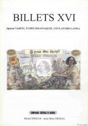 Billets 16 - Tahiti - Tchécoslovaquie - Ceylan PRIEUR Michel, DESSAL Jean-Marc