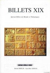 Billets 19 - spécial monde et thématiques PRIEUR Michel, DESSAL Jean-Marc