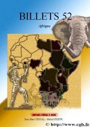 Billets 52 : Afrique non française PRIEUR Michel, DESSAL Jean-Marc, RAMOS Fabienne