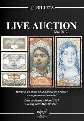 eBillets Live Auction Mai 2017 CORNU Joël, DESSAL Jean-Marc