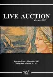 Live Auction Billets Octobre 2017 CORNU Joël, DESSAL Jean-Marc
