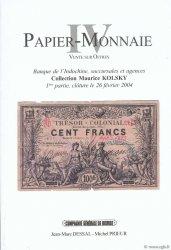 Papier Monnaie IV