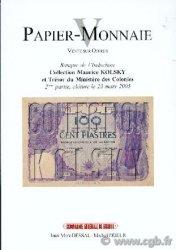 Papier Monnaie V
