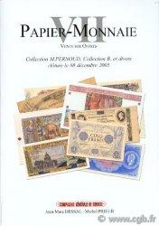 Papier Monnaie VII