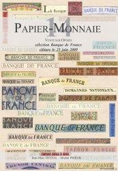 PAPIER-MONNAIE 14 sélection Banque de France DESSAL Jean-Marc, PRIEUR Michel