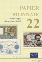 Papier Monnaie 22