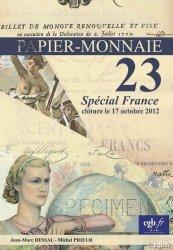 PAPIER-MONNAIE 23 sélection Banque de France DESSAL Jean-Marc, PRIEUR Michel