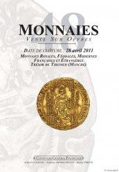 Monnaies 48, monnaies royales et modernes, trésor de Tirepied (Manche) CLAIRAND Arnaud, DESROUSSEAUX Stéphane, PRIEUR Michel