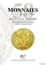 Monnaies 58 CLAIRAND Arnaud, DESROUSSEAUX Stéphane, PRIEUR Michel