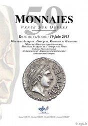 Monnaies 59 GOUET Samuel, PARISOT Nicolas, PRIEUR Michel, SCHMITT Laurent