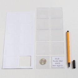 100 étuis doubles pour monnaies diamètre jusquà 42 mm  LEUCHTTURM