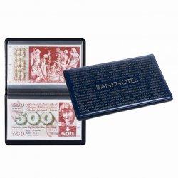 Album de poche pour billets grand format (jusquà 210 x 125 mm) LEUCHTTURM