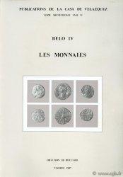 Belo IV, les monnaies BOST J.-P., CHAVES F., DEPEYROT G., HIERNARD J., RICHARD J.-P.