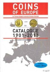 Coins of Europe 1901-2013 KOSINSKI T.G., KOSINSKI T.