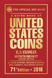 A guide book of United States coins - 71st Edition - 2018