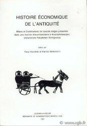 Histoire économique de lAntiquité sous la direction de Tony HACKENS, Patrick MARCHETTI