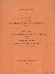 Inventaire des Trésors de bronze Constantiniens (313- 348), Le Trésor monétaire de Fresnoy-lès-Roye II (261-309)  BASTIEN Pierre, CALLU Jean-Pierre