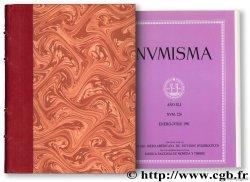 NUMISMA. Revista de la Sociedad Iberoamericanas de Estudios Numismaticos, I-LIV (1951 - 2004)