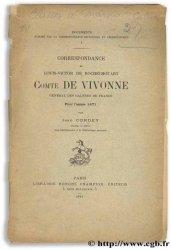 Correspondance de Louis-Victor de Rochechouart, Comte de Vivonne, Général des Galères de France - Pour lannée 1671 CORDEY J.