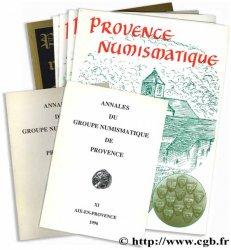Provence Numismatique, bulletins - Annales du groupe numismatique de Provence